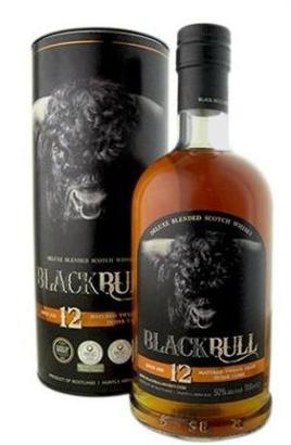 Black Bull Scotch Whiskey 12 Year Blended